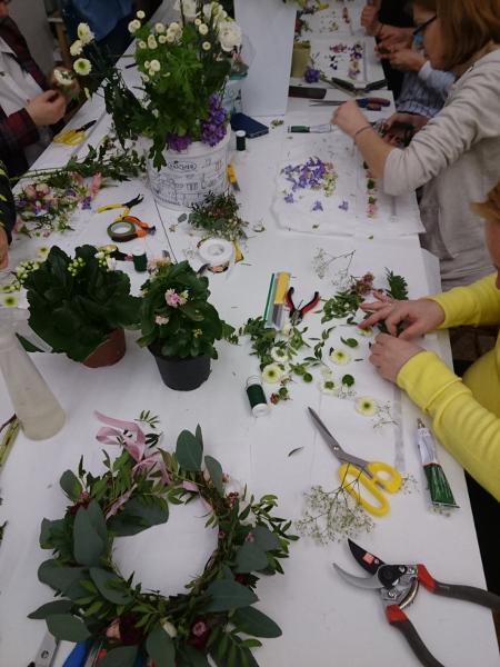Szkolenia i warsztaty florystyczne w Warszawie