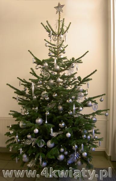 Dekoracje świąteczne, ubrane choinki i stroiki z dostawą