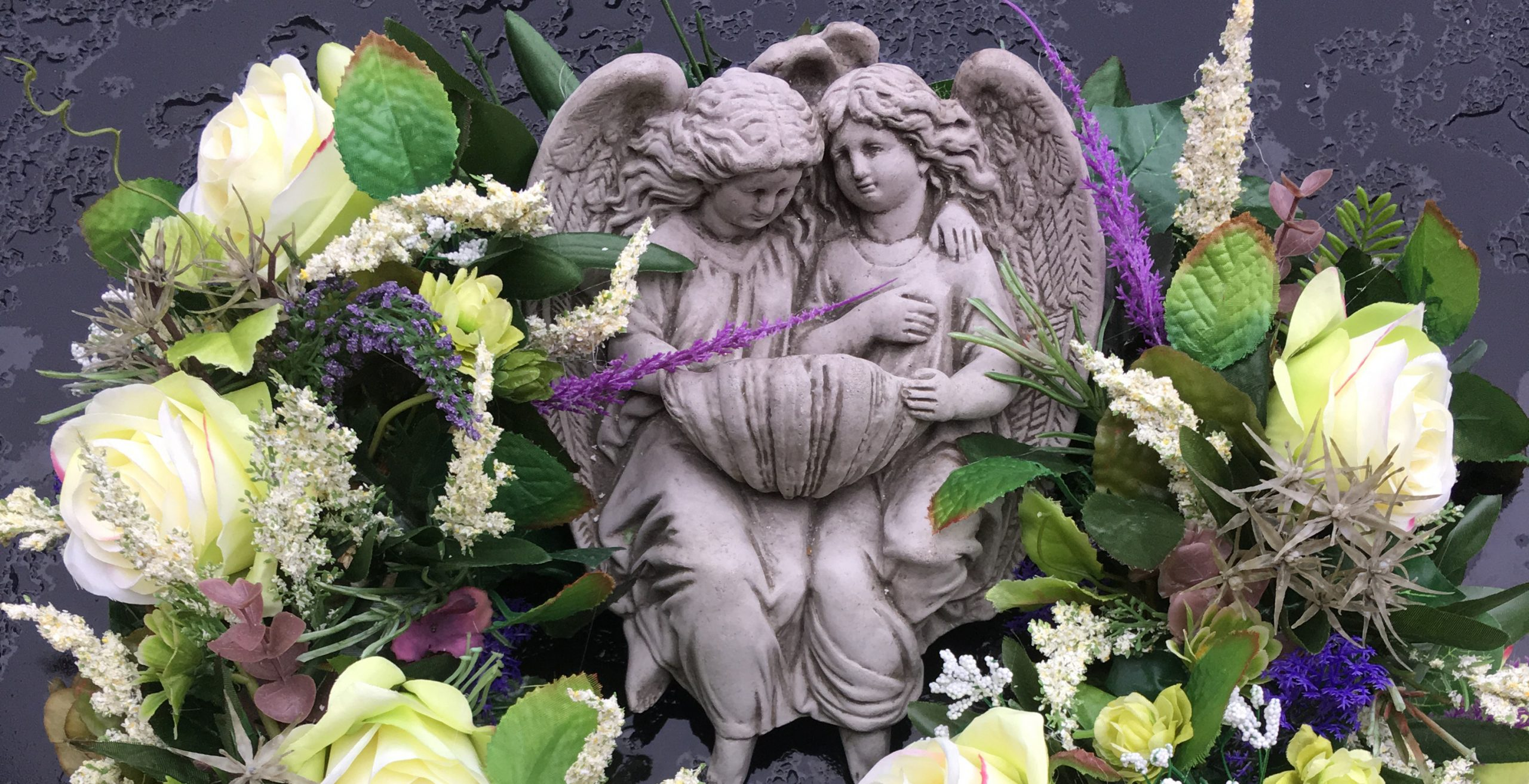 Kwiaty na pogrzeb i na grób