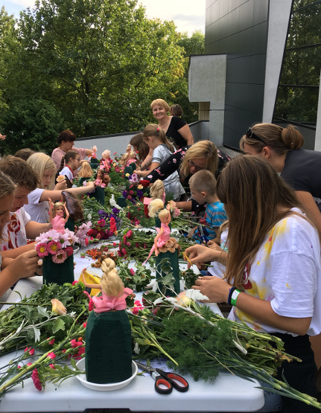 Warsztaty florystyczne dla dzieci i dorosłych